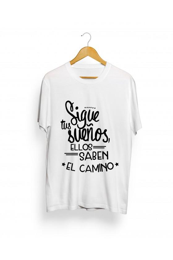 Camiseta Camionero ilustración   Sigue tus sueños