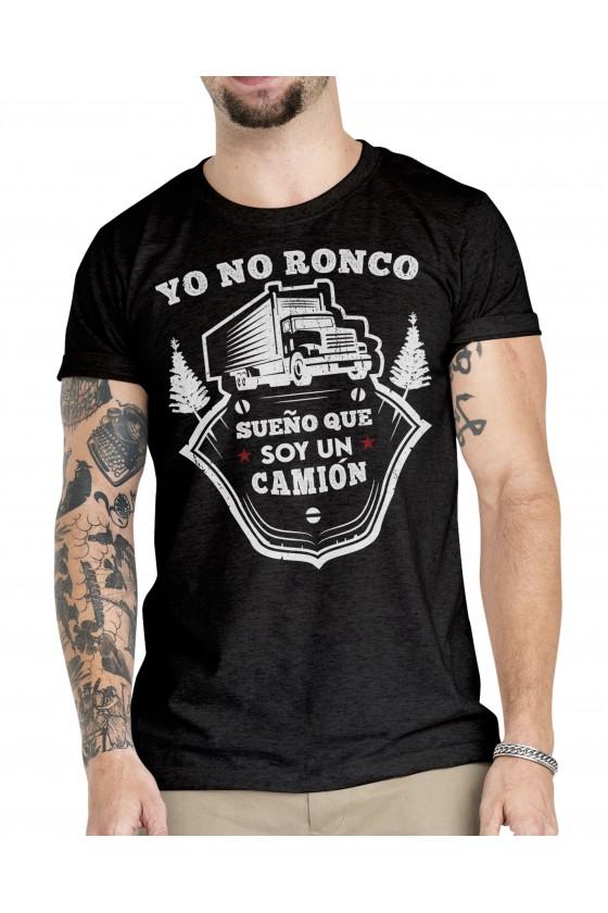 Camiseta Camionero ilustración | Yo no ronco