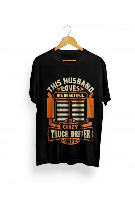 Camiseta Camionero ilustración | This Husband