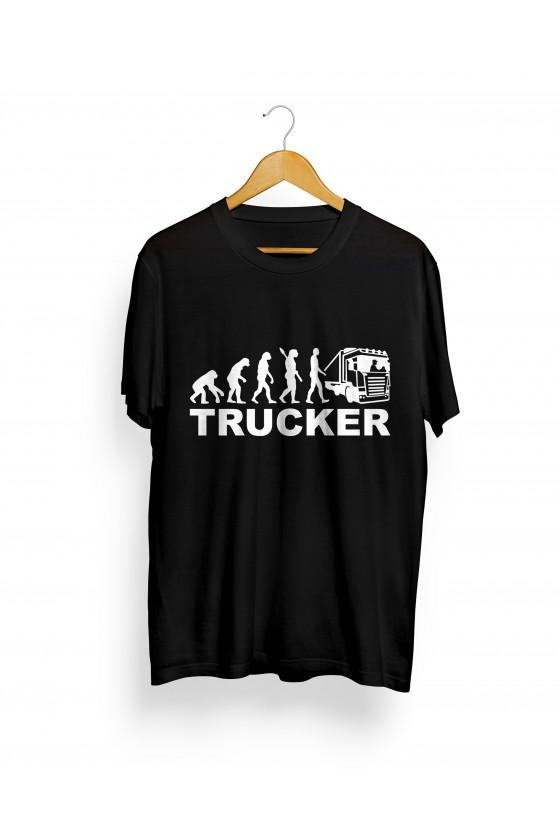 Camiseta Camionero ilustración | Evolution Trucker